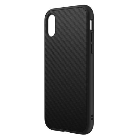 low priced 56937 6a43e RhinoShield SolidSuit Case for iPhone X - Carbon