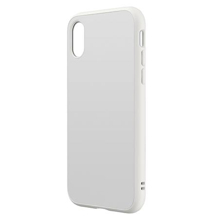 huge selection of 0bd5e f5852 RhinoShield SolidSuit Case for iPhone X - Classic White SSA0106453