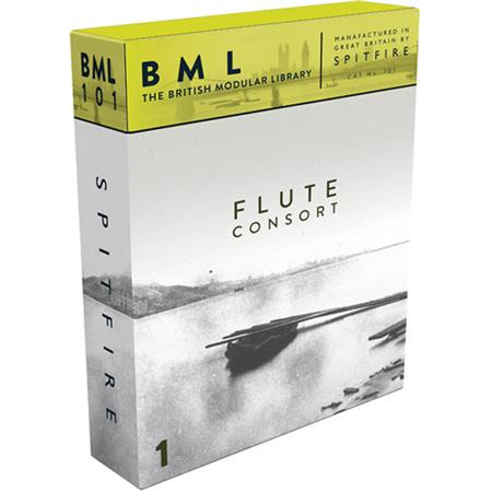 Spitfire Audio BML Flute Consort Volume 1 Solo Sample Library, Electronic  Download
