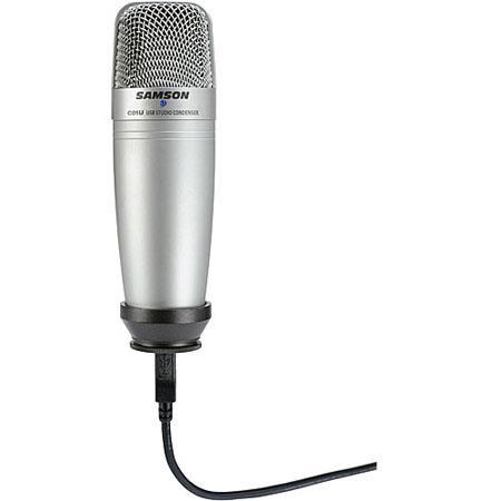 Samson C01UCW USB Studio Condenser Hypercardioid Microphone