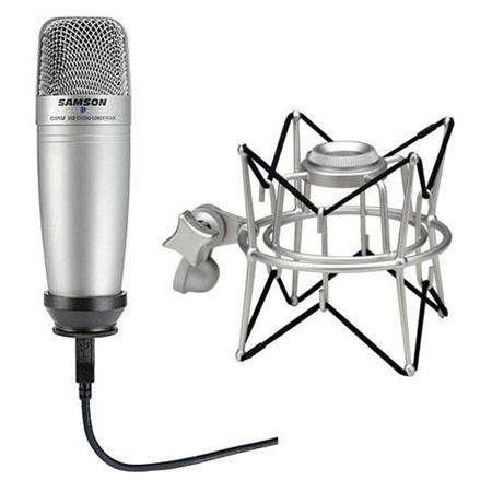 Samson USB Condenser Microphone Bundle