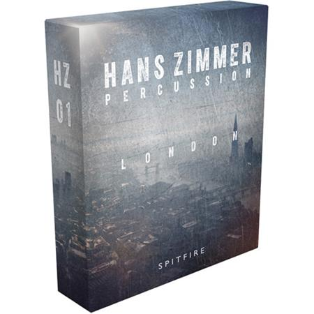 Spitfire Audio Hans Zimmer Percussion London HZ01 Virtual Instrument  Library with Full Kontakt 5 Player, Electronic Download