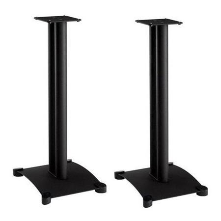 Sanus Systems SF30 Steel Foundations 30 Tall Speaker Stand For Small Bookshelf Speakers Pair