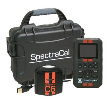 SpectraCal VideoForge PRO 4K HDR Pattern Generator and C6 HDR2000  Colorimeter