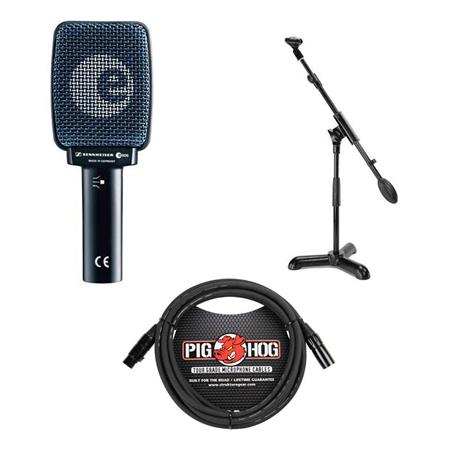 Sennheiser E 906 Guitar Microphone Stand Amp Cable Package