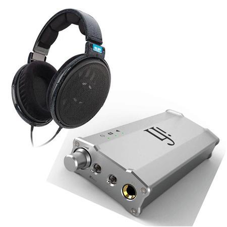 sennheiser hd 600 headphone bundle with ifi micro ican headphone amplifier hd600 p. Black Bedroom Furniture Sets. Home Design Ideas