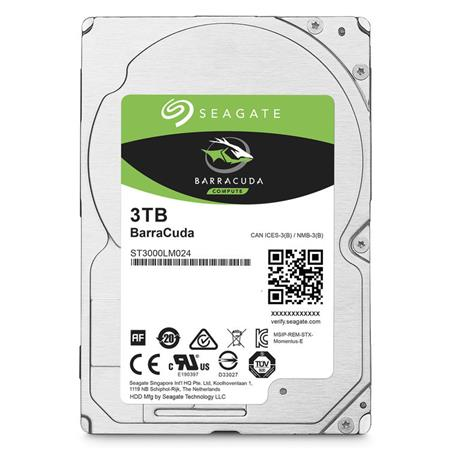 Seagate Barracuda 3tb 2 5 Internal Laptop Hard Drive St3000lm024