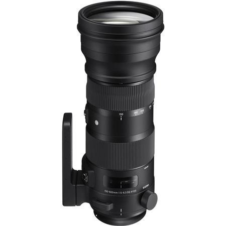 Sigma 150-600mm F5-6 3 DG OS HSM Sport Lens for Nikon DSLR Cameras