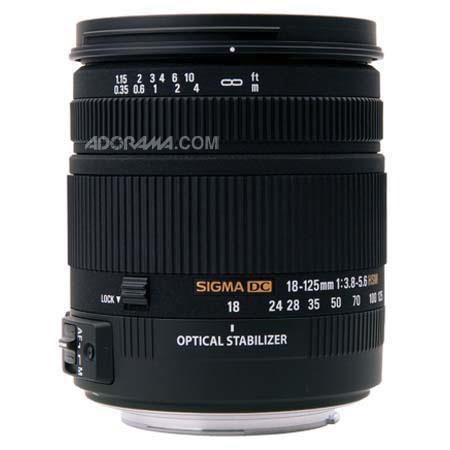 Sigma 18-125mm: Picture 1 regular