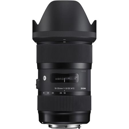 Sigma 18-35mm F/1 8 DC HSM ART Lens for Canon Digital SLR Cameras