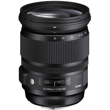 Sigma 24-105mm f/4 0 DG OS HSM ART Lens f/Canon EOS - Hoya XTP UV & CPL  Filters
