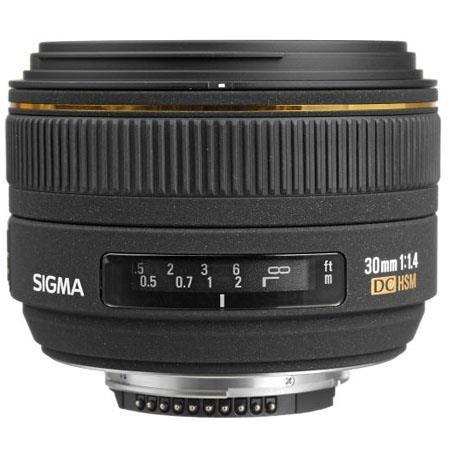 Sigma 30mm F1 4 Ex Dc Hsm Lens For Nikon Dslrs U 300306