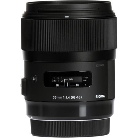 Sigma 35mm f/1 4 DG HSM ART Lens for Nikon AF Cameras - USA Warranty