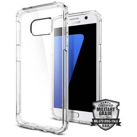 Spigen Shell Case for Samsung Galaxy S7, Clear Crystal
