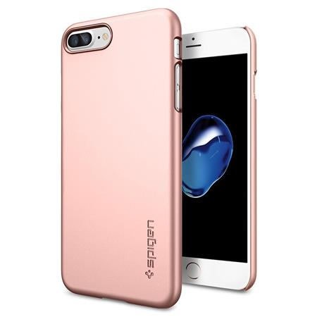 online store ae123 56bc9 Spigen Thin Fit Case for iPhone 7 Plus, Rose Gold