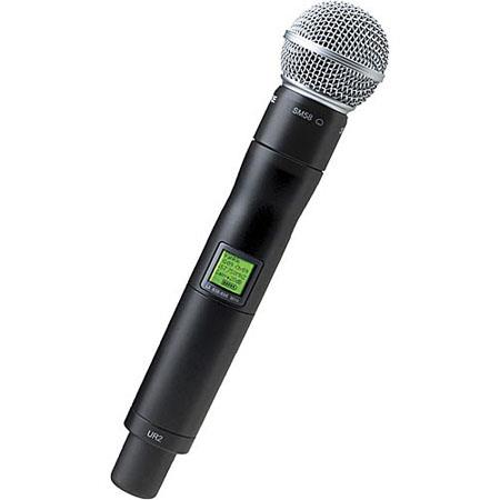 shure ur2 sm58 g1 handheld wireless microphone transmitter with sm58 head ur2 sm58 g1. Black Bedroom Furniture Sets. Home Design Ideas