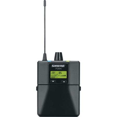 H20 Shure P3R Wireless Bodypack Receiver for PSM300 Stereo Personal Monitor System