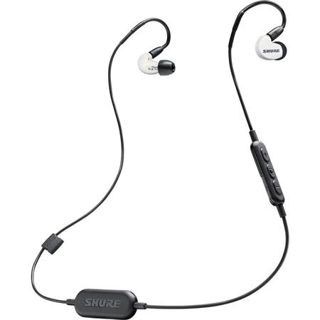 Shure Se215 Sound Isolating Earphones With Rmce Bt1 Bluetooth Cable