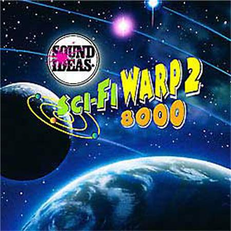 Sound Ideas Series 8000 - Science Fiction Warp 2 Sound Effects Library CDs,  3 CDs