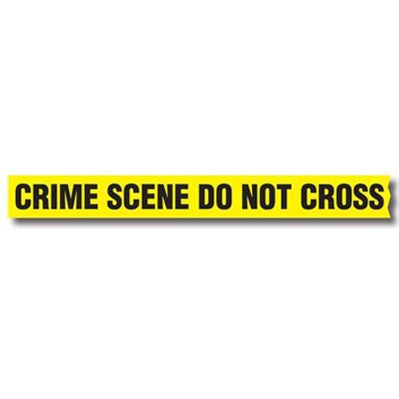 sirchie barrier tape crime scene do not cross with dispenser box