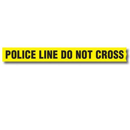 sirchie barrier tape police line do not cross without dispenser