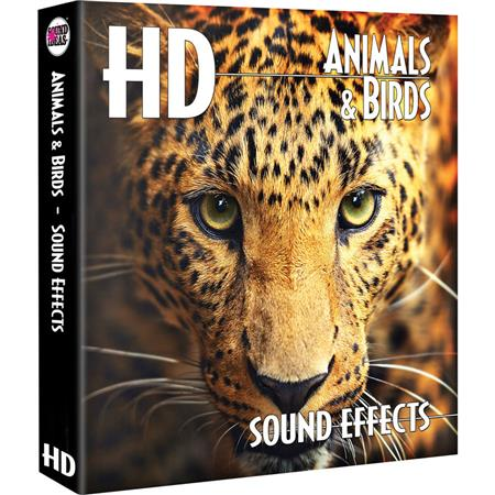 Sound Ideas HD-Animals & Birds Sound Effects Library on Hard Drive, for Mac