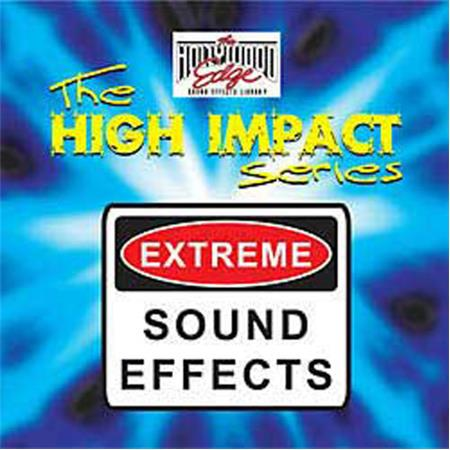 Sound Ideas High Impact Series Sound Effects Library, Download Only