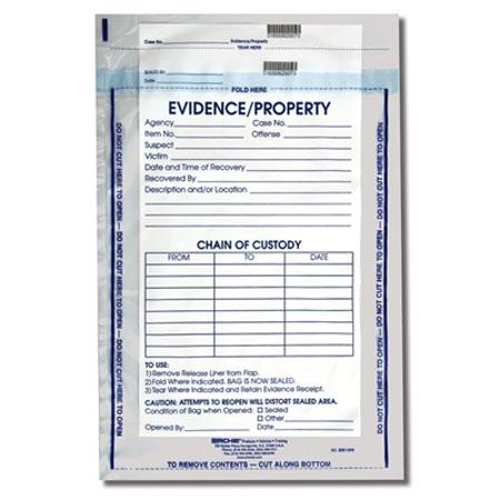 Sirchie 12 x 15 1 2 integrity evidence bag 100 pack ieb1200 for 12x15 calculator