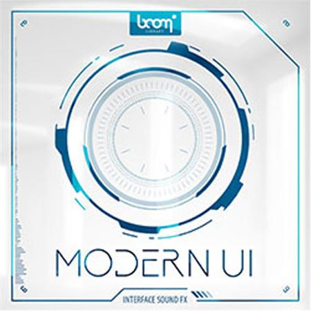 Sound Ideas Modern UI by Boom Pioneering User Interface Sound Effects,  Download Only