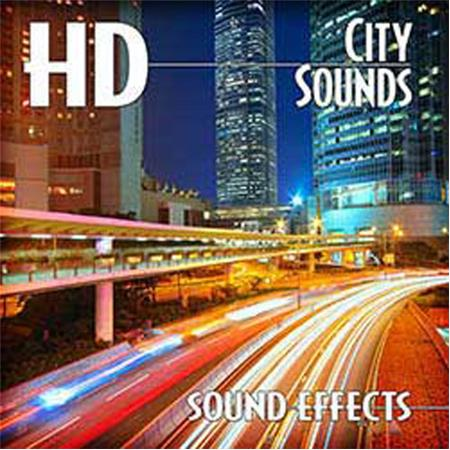 Sound Ideas 345 High Definition City Ambience Sound Effects Library
