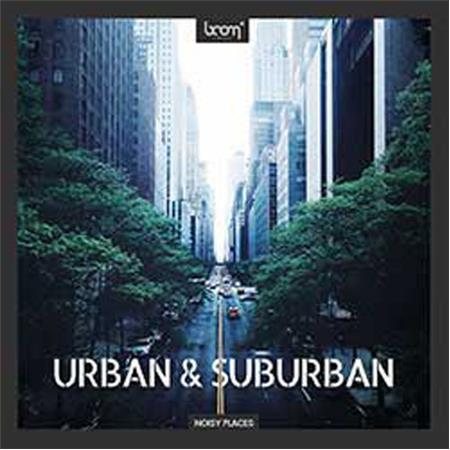 Sound Ideas Urban and Suburban Sound Effects Library by Boom, Download Only