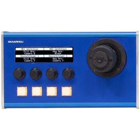 Skaarhoj MC Series MC10 Module Portable Desktop Controller with Large  Display, 4 Axis Joystick and 4 Encoders