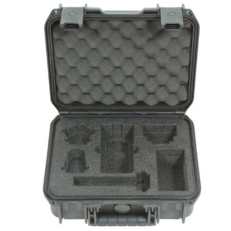 Skb Injection Molded Hard Case For Zoom H6 Recorder With Shotgun