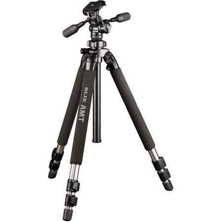 Slik 500-HD 3-section Aluminum Pro 500-DX Aluminum Tripod Legs and ... 7429ac4d15a