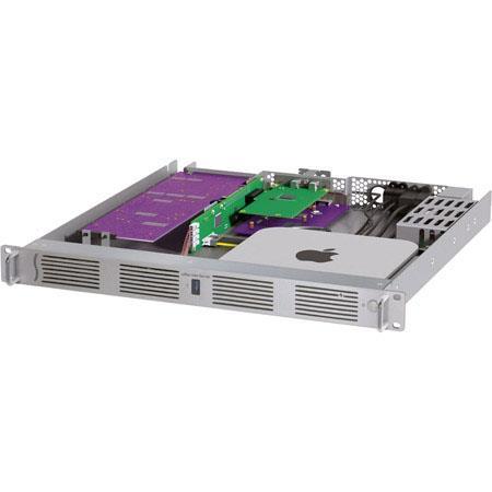 Sonnet xMac mini Server, PCIe x8 2 0 Half-Length & PCIe x16 2 0 Full-Length  Slot, Gigabit Ethernet, HDMI, 3x USB 3 0, 1U Rackmount Enclosure