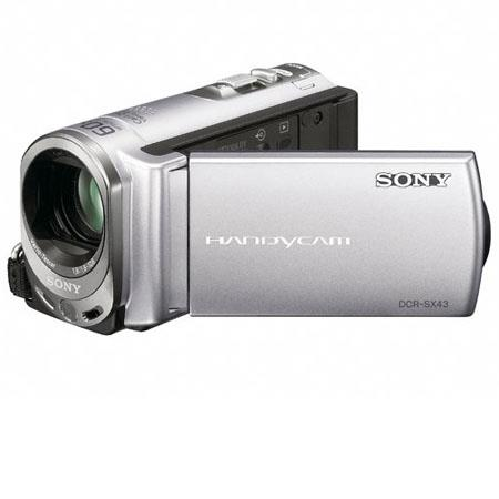 Sony DCR-SX43 PAL Standard Definition Flash Memory Camcorder