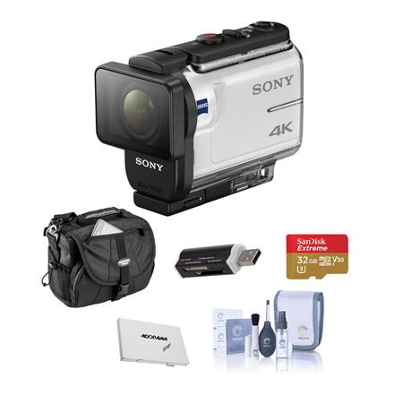Sony Fdr X3000 4k Action Camera With Balanced Optical