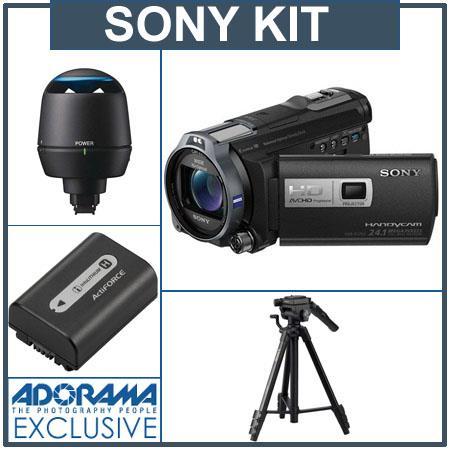 Sony HDR-PJ760V Camcorder w/Projector, Bundle w/Sp HDR-PJ760V A