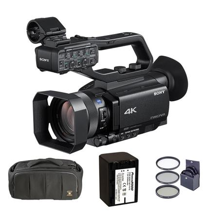 Sony Hxr Nx80 Compact 1 Nxcam 4k Camcorder With Free Accessory Bundle Hxr Nx80 A