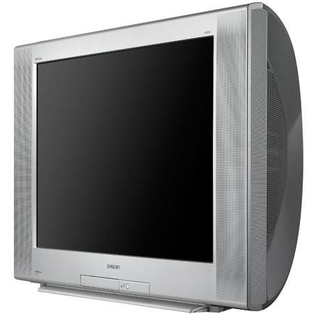 sony 32 fd trinitron wega flat screen dual speaker crt digital tv kd32fs170. Black Bedroom Furniture Sets. Home Design Ideas