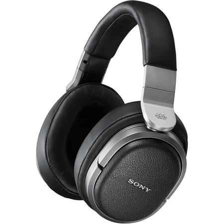 Sony MDR-HW700DS 9 1ch Wireless Surround Sound Headphones, 2 4/5GHz, 50mm  Drivers, Rechargeable Battery, Black/Silver