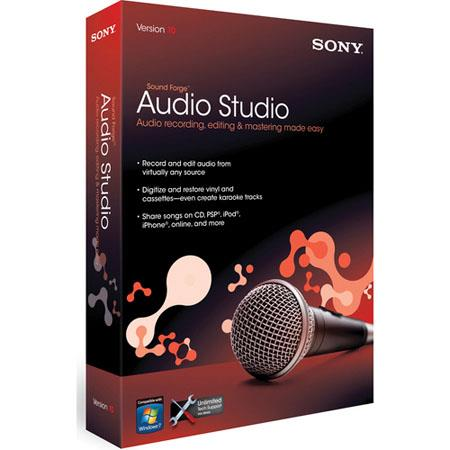 Sony Sound Forge Audio Studio 10  For Sale