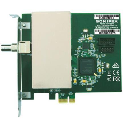 Sonifex 24-Channel FM Radio Capture PCIe Card