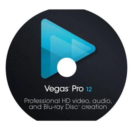 Sony Vegas Pro 12 Video Editing Software - Slip Sleeve Packaging