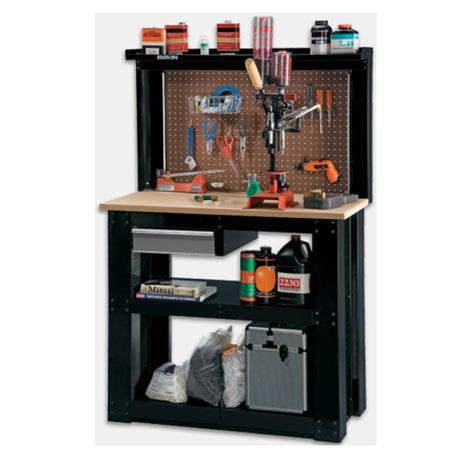 Stack On Rta Steel Reloading Workbench With Back Wall Wb 402