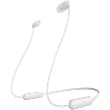 Sony Wi C200 Wireless Bluetooth In Ear Headphones White Wic200 W
