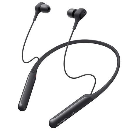 Sony Wi C600n Wireless Noise Cancelling In Ear Headphones Black Wic600n B