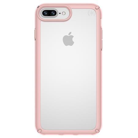 uk availability a060c 20c3a Speck Presidio Show Case for iPhone 8 plus /7 plus /6s plus /6 plus -  Clear/Rose Gold
