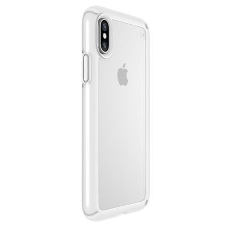 1e1b4fcf17 Speck Presidio Show Case for iPhone X - Clear/Bright White 103134-6692