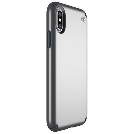 pretty nice 6c982 e73ad Speck Presidio Metallic Case for iPhone X - Tungsten Grey Metallic/Stormy  Grey